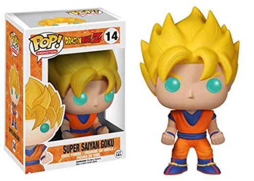 Funko POP! Vinilo Colección Dragonball Z - Figura Goku Super Saiyan