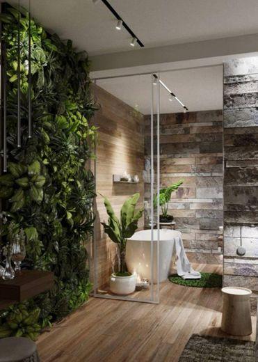 Casa de banho florestal