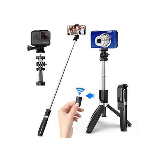 SYOSIN Palo Selfie Trípode con Control Remoto Bluetooth