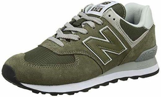 New Balance 574 Zapatillas Hombre, Verde