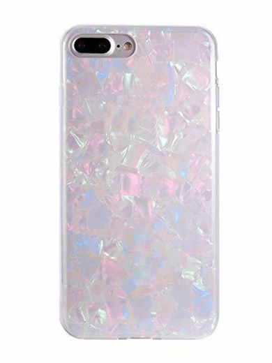 FELONY CASE iPhone 8+, 7+, 6+/6s+ Plus Case Opal Holographic Shock Absorbing