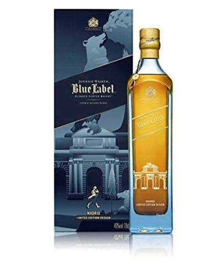 Johnnie Walker Blue Label Whisky Edición Limitada Madrid