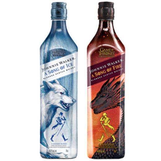 Johnnie Walker Song of Ice Whisky Escocés, Edición limitada Juego de Tronos