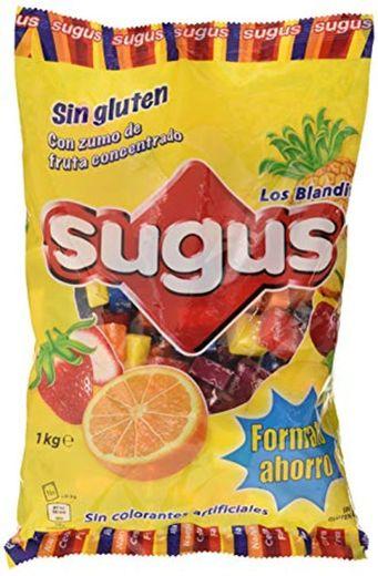 Sugus - Caramelos blandos con zumo de fruta