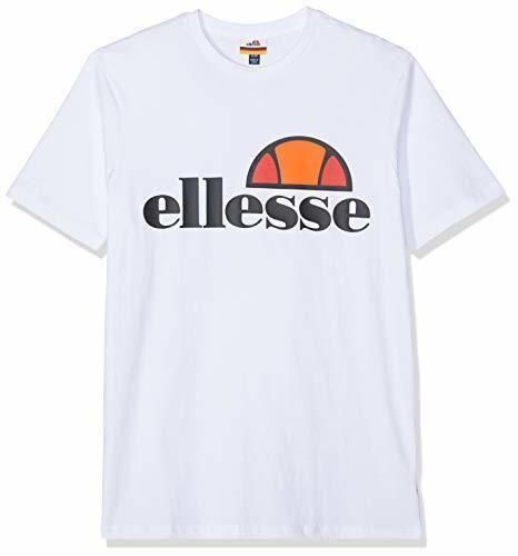Ellesse Prado Camiseta, Hombre, Blanco