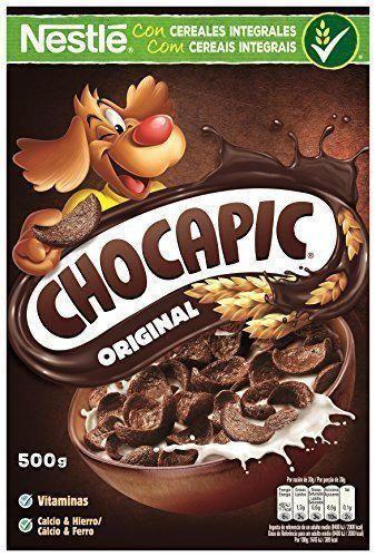 Cereales Nestlé Chocapic Cereales de trigo y maíz tostados con chocolate