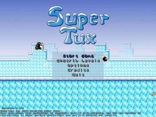 Super tux!