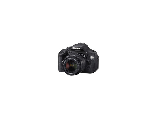 Canon EOS 600D - Cámara Réflex Digital 18.7 MP