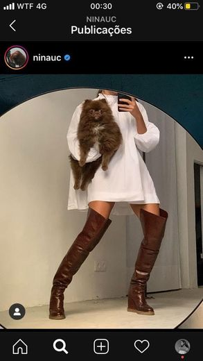 Celine high boot