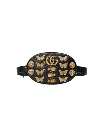 Gucci animal stud belt bag