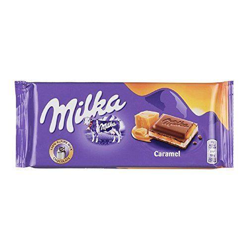 Milka Caramel 100G Bar