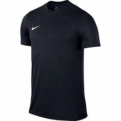 Nike Park VI Camiseta de Manga Corta para hombre, Negro