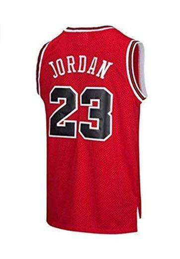 VICTOREM NBA Michael Jordan #23 Camiseta de Baloncesto para Hombres Chicago Bulls
