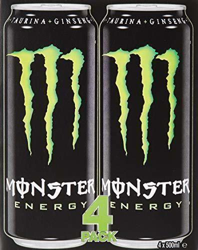 Monster Energy Lata 4 x 500 ml - Total
