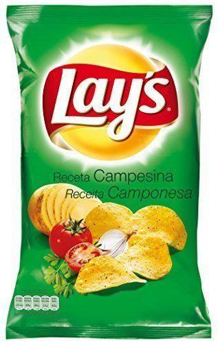 Lay's Patatas Fritas con Condimento Preparado de Vegetales y Especias con Azúcares