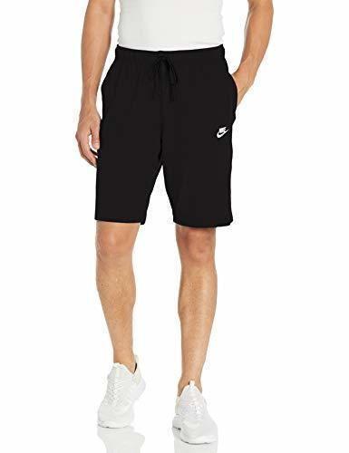Desconocido Nike Club Short JSY Pantalones Cortos, Hombre, Negro