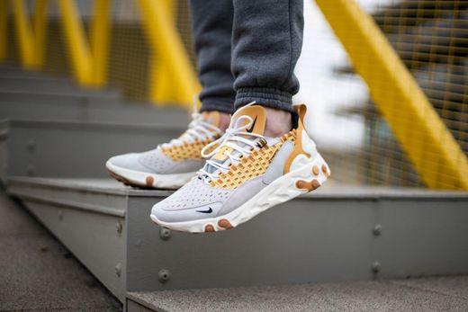 Nike React Sertu Vast Grey/Black-LT Smoke Grey sneakers