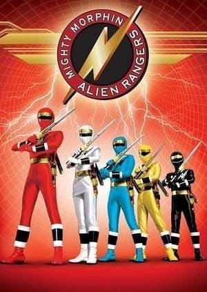 Power Rangers Mighty Morphin Alien Rangers