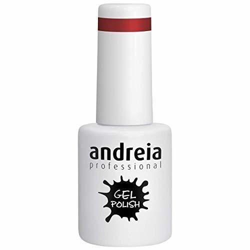 Andreia Esmalte de Uñas de Gel Semipermanente - Color 256 Roja -