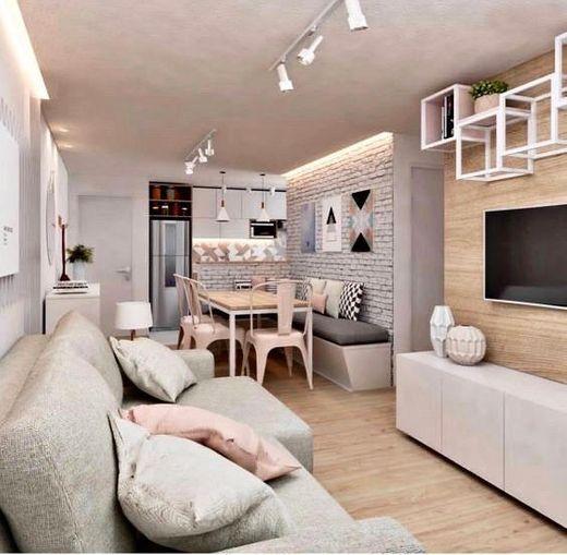 Decoração de sala pequena e moderna 👌🏻✨