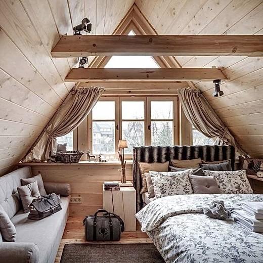 Amazing Attic Bedroom Decor ✨💡