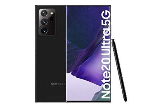 "Samsung Galaxy Note20 Ultra 5G Smartphone Android Libre de 6.9"" 256GB, Negro"