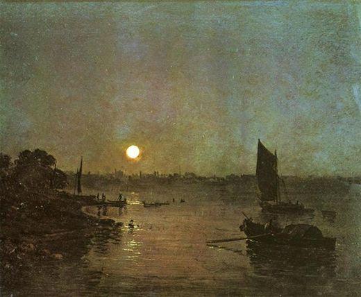 Moonlight at Millbank, de Turner