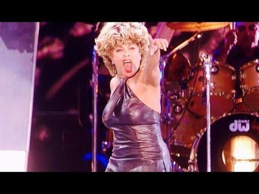 Tina en Wembley - Proud Mary