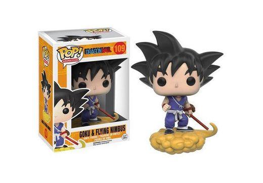 Funko - Pop! Vinilo Colección Dragonball Z - Figura Goku & Nimbus