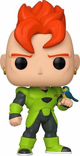 Funko- Pop Animation: Dragon Ball Z-Android 16 Collectible Toy, Multicolor
