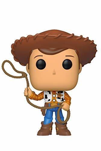 Funko- Pop Vinilo: Disney: Toy Story 4: Woody Figura Coleccionable, Multicolor, Talla