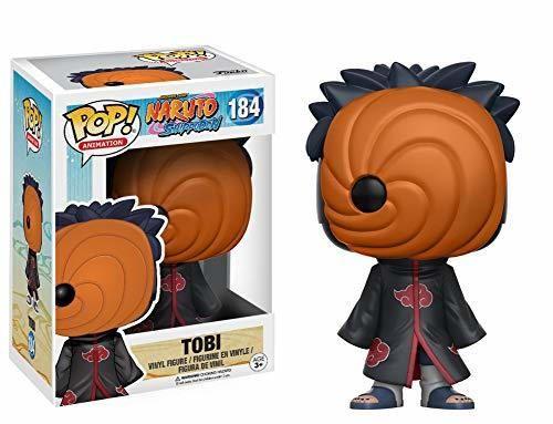 Funko - Tobi Figura de Vinilo, colección de Pop, seria Naruto Shippuden