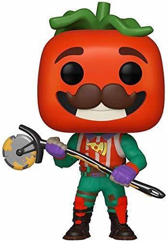 Funko- Pop Vinilo: Games: Fortnite: TomatoHead Figura Coleccionable, Multicolor