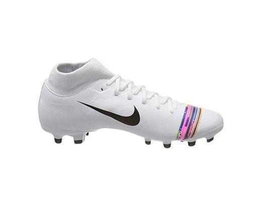 Nike Superfly 6 Academy FG/MG, Zapatillas de Fútbol para Hombre, Blanco