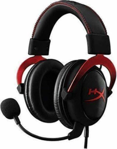 HyperX KHX-HSCP-RD Cloud II - Cascos de Gaming para PC/PS4/Mac