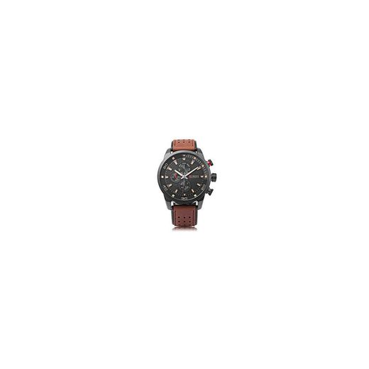 CURREN 8250 Sport Men Quartz Watch Moda Simple Relogio Masculino Hombres Relojes