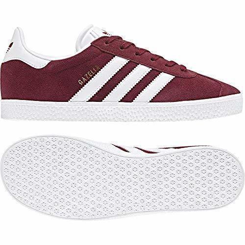 adidas Gazelle, Zapatillas de deporte Unisex niños, Rojo