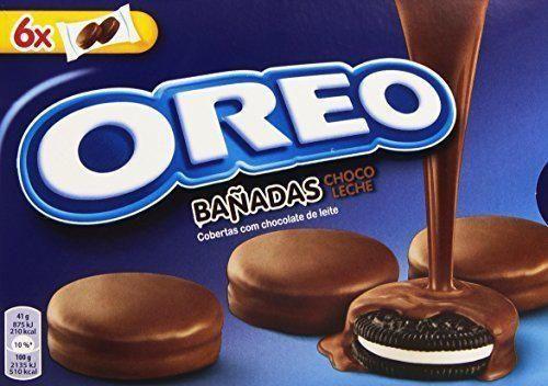 Oreo Bañadas Galletas Cubierto de Chocolate con Leche