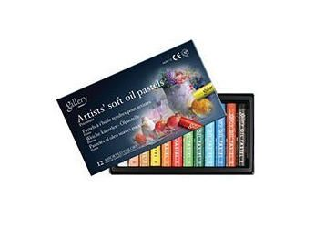 Mungyo Gallery Soft Oil Pastels Set of 12