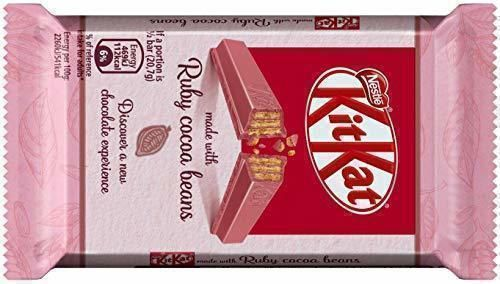 Kit Kat Ruby Galleta Recubierta de Chocolate