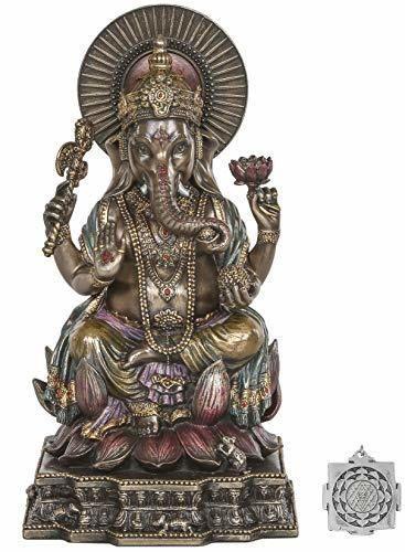 estatua de Ganesh - Altar hindú Versorgungskit - 6,2 pulgadas
