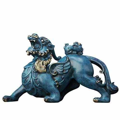 Kerryshop Estatua de Feng Shui Feng Shui Bronce Pi Yao/Pi Xiu Riqueza