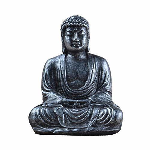 6SHINE - Estatua de Buda meditando – Mini Harmony Innovadora Exquisita Estatua