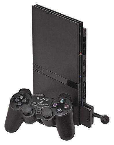 Sony Consola PlayStation 2 Slimline [Negro] [PlayStation 2] [Producto Importado]