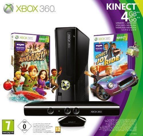 Microsoft Xbox 360 4GB Console with Kinect - juegos de PC