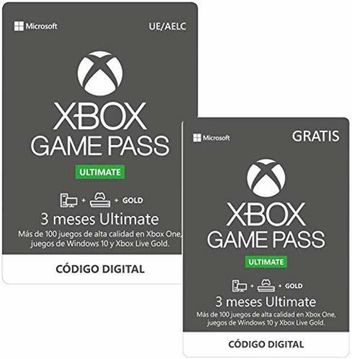 Suscripcion Xbox Game Pass Ultimate - 3 Meses