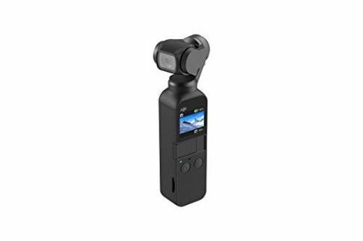 DJI Osmo Pocket - Cámara portátil con estabilizador en Tres Ejes, Resolución