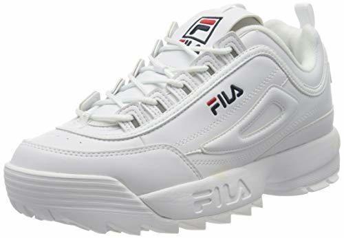 Fila Disruptor Low 1010262-1fg, Zapatillas para Hombre, Bianco