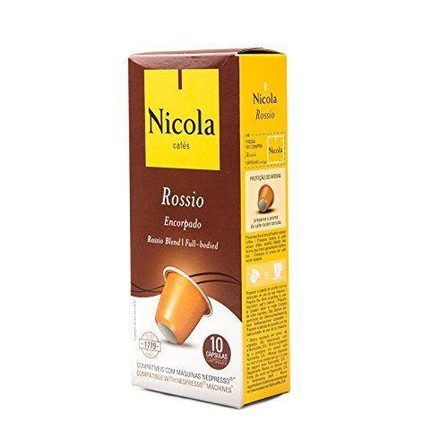 Nicola Rossio, Cápsulas de café - 10 de 10 cápsulas