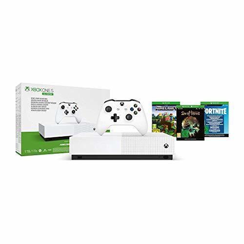 Microsoft - Xbox One S 1 TB All-Digital Edition, Fortnite